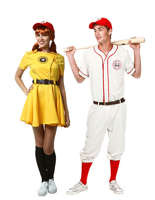 Girls A League of Their Own Kit Costume  |A League Of Their Own Costume