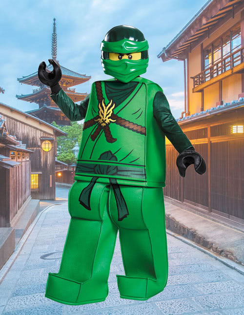 Boys Lloyd Ninjago Costume