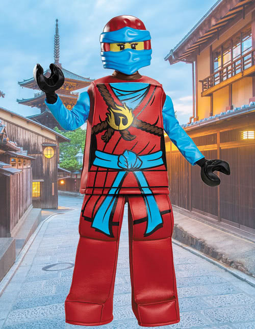 Girls Ninjago Nya Costume