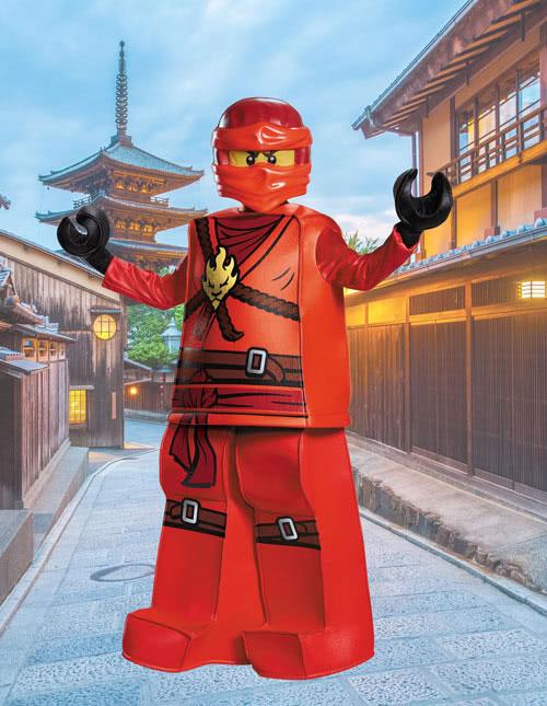 Boys Kai Ninjago Costume