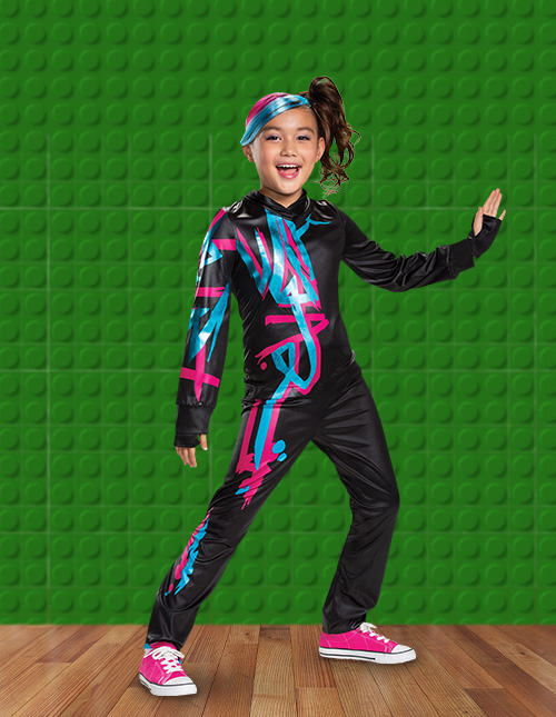 Girls' LEGO Movie 2 Lucy Costume