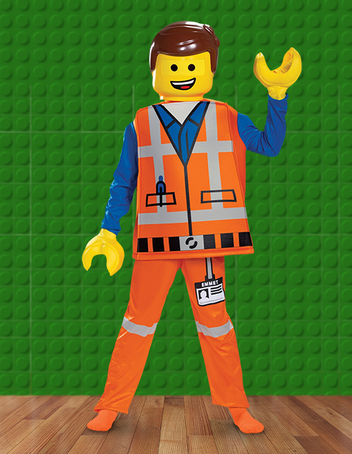 LEGO Movie 2 Emmet Costume for Boys