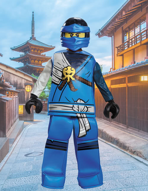 Boys Ninjago Jay Costume