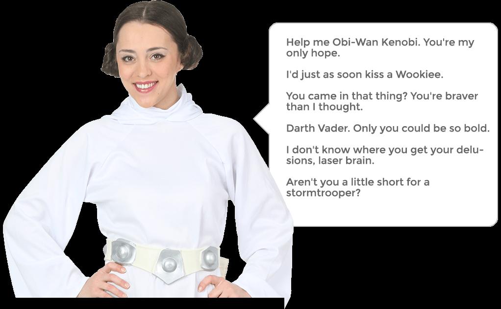 Princess Leia Quotes