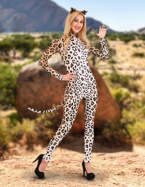 Leopard Costume Womens