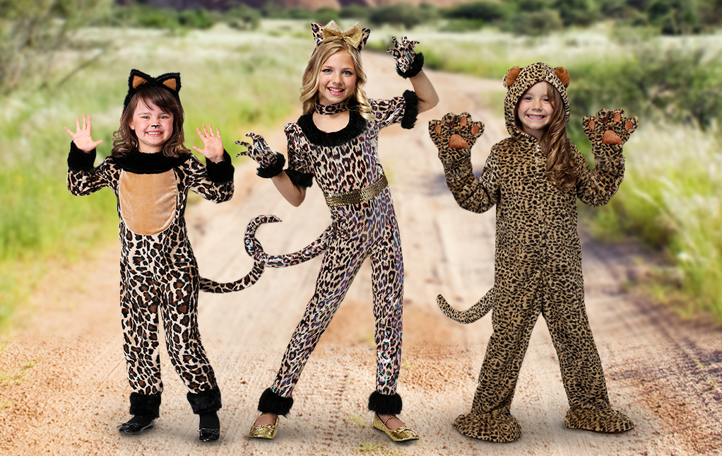 Leopard Halloween Costumes