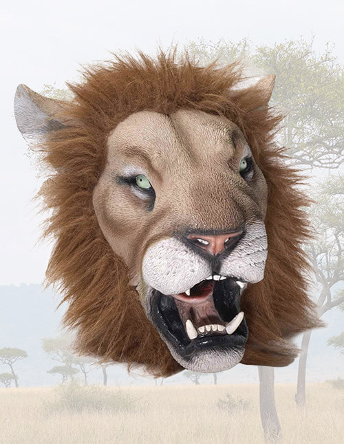 Deluxe Lion Mask