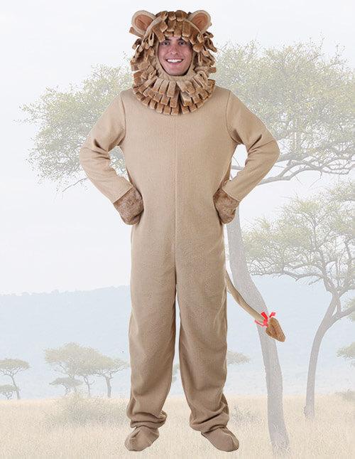 Lion costumes halloweencostumes adult lion solutioingenieria Gallery