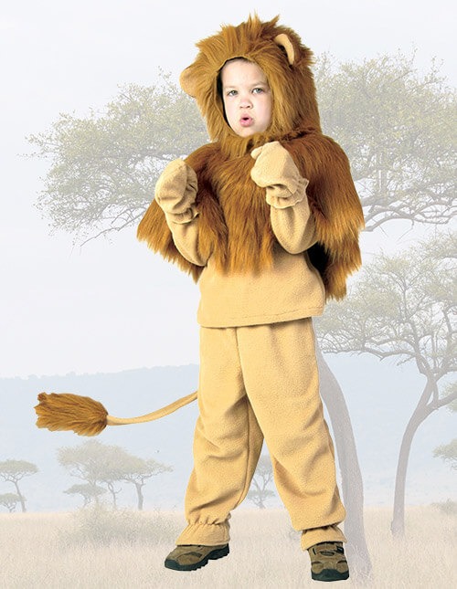 Child Storybook Lion