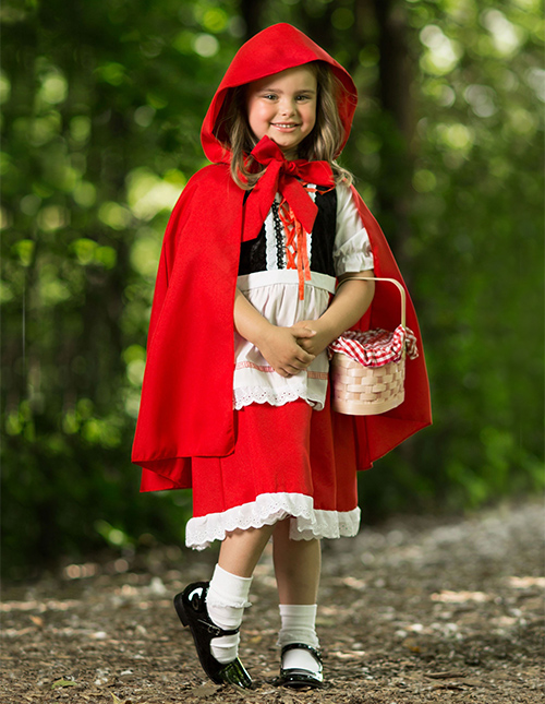 Girls' Red Riding Hood Costume