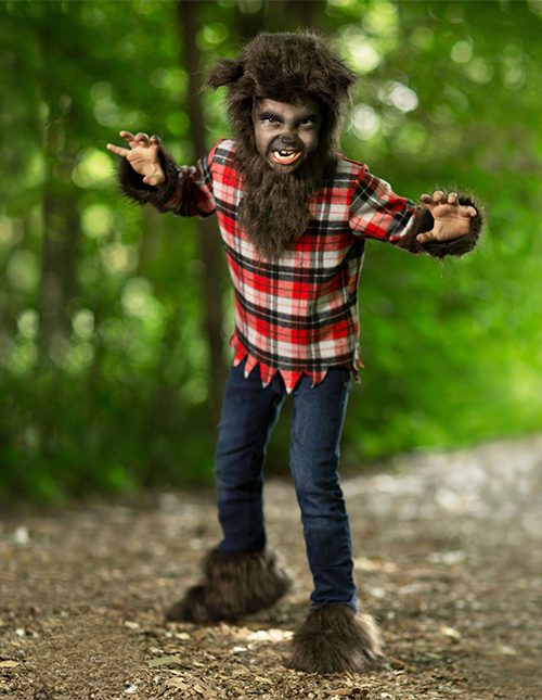 Werewolf Boys' Halloween Costume