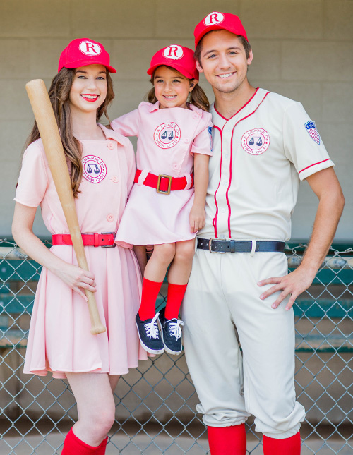 A League of Their Own Family Costumes