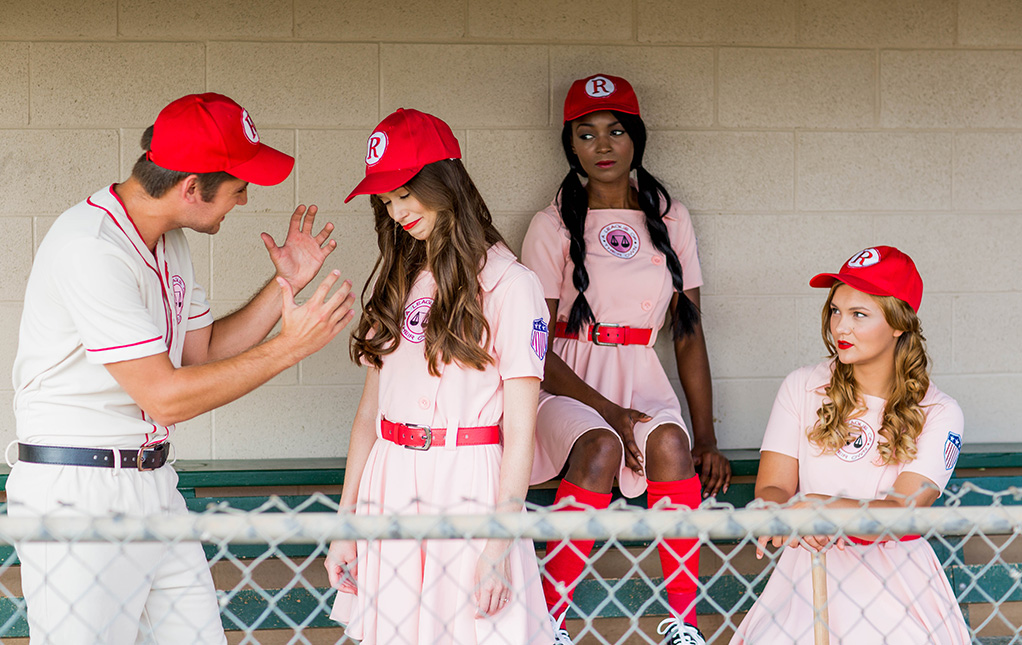 A League of Their Own Group Costumes