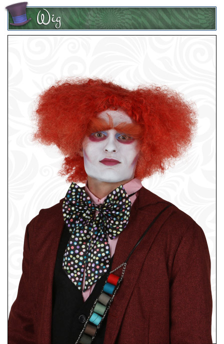 Mad Hatter Orange Wig