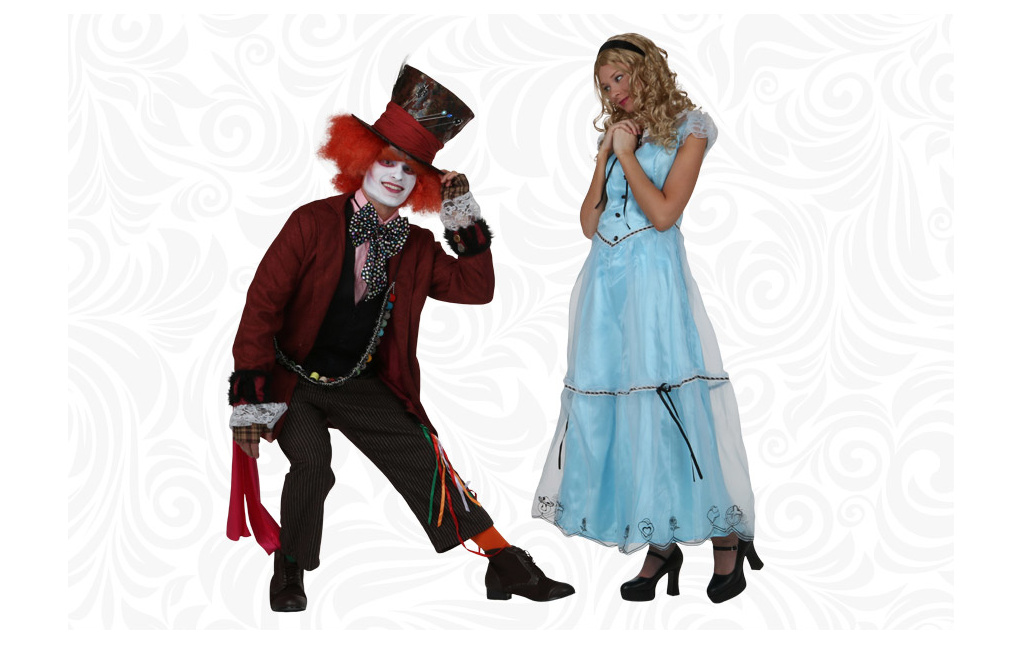 Alice in Wonderland Couples Costumes