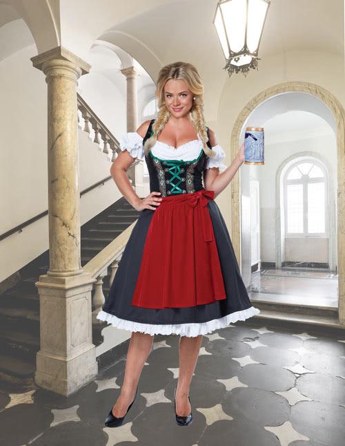 German Beer Maid Costume