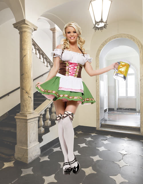 French Maid Halloween Costumes