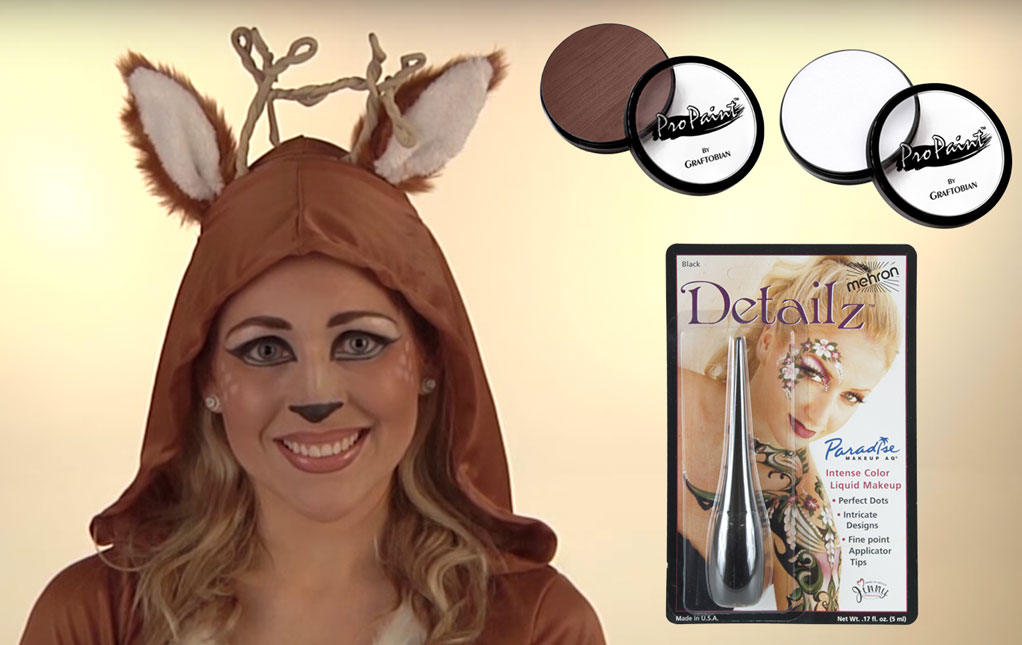 Deer Halloween Makeup  sc 1 st  Halloween Costumes : intricate halloween costumes  - Germanpascual.Com