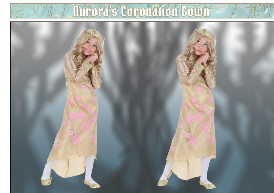 Aurora's Coronation Gown