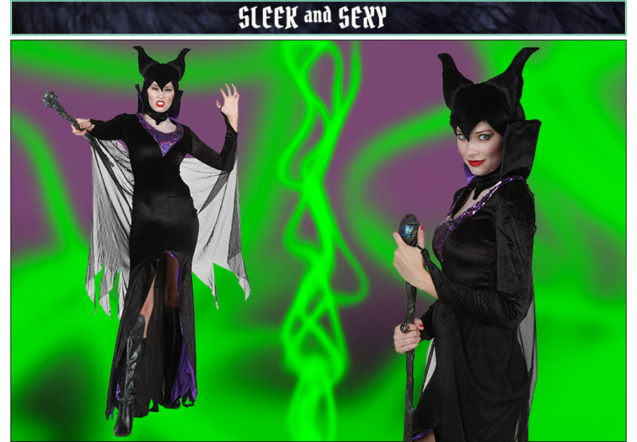Sleek and Sexy Maleficent Costume