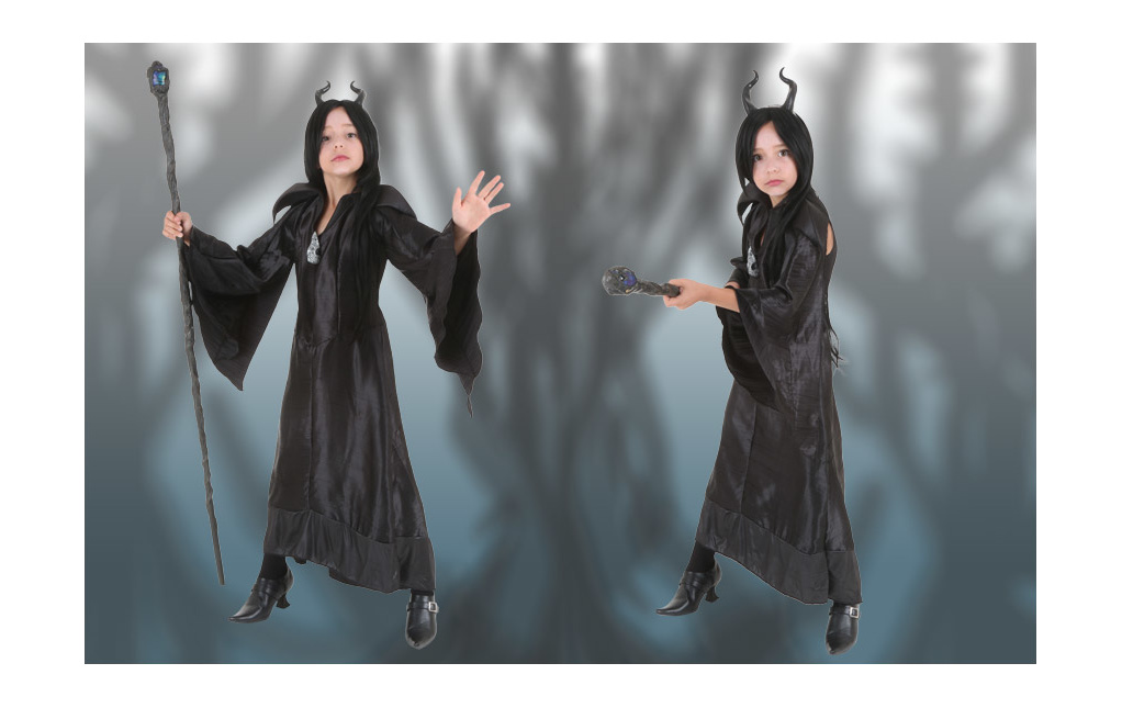 Maleficent Costume for Girls