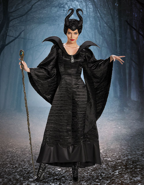 Women's Maleficent Costume