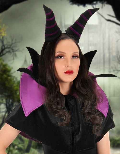 Maleficent Horns Headband