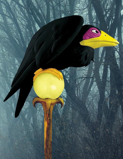Maleficent's Crow
