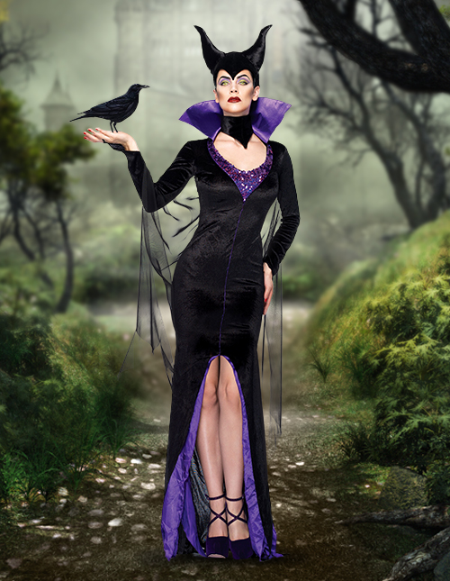 Sexy Maleficent Costume
