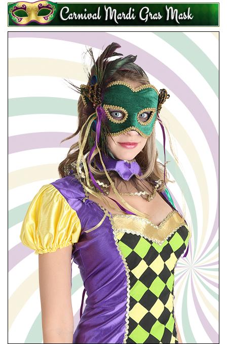 Carnival Mardi Gras Mask