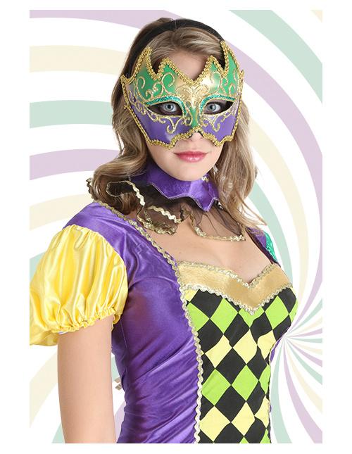 Deluxe Mardi Gras Mask