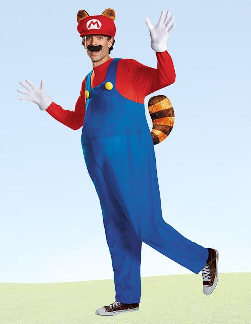 Deluxe Mario Raccoon