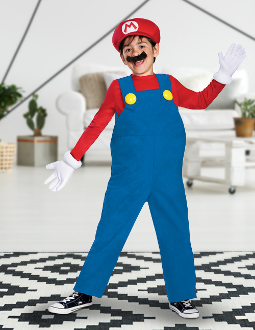 Boys' Mario Costume