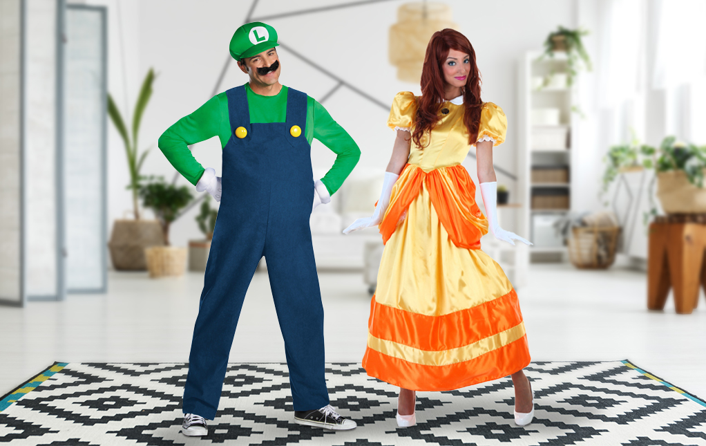 Luigi and Daisy Costume