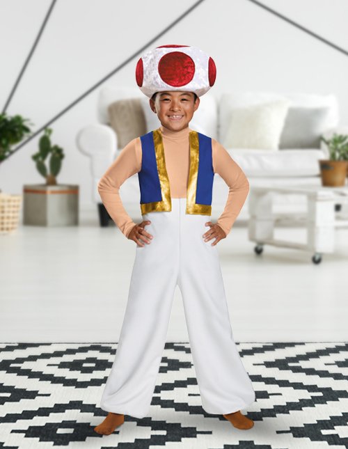 Toad Costume