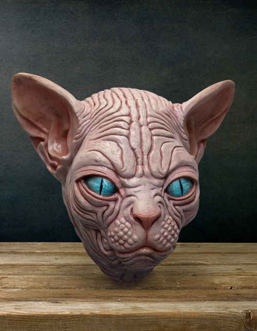 Sphynx Cat Mask