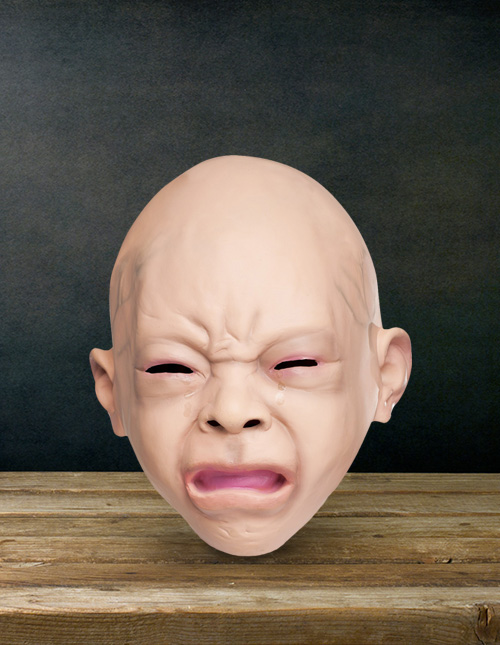 Crying Baby Mask