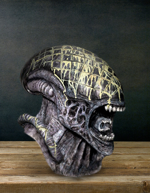 Latex Alien Mask