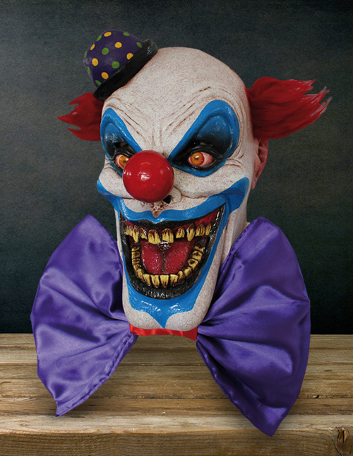 Rob Zombie Halloween Clown Mask.Halloween Masks Adult Kids Funny Animal Scary Masks
