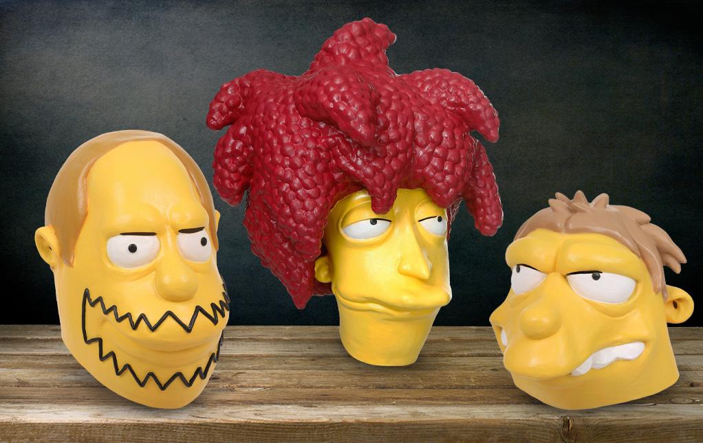 The Simpsons Masks