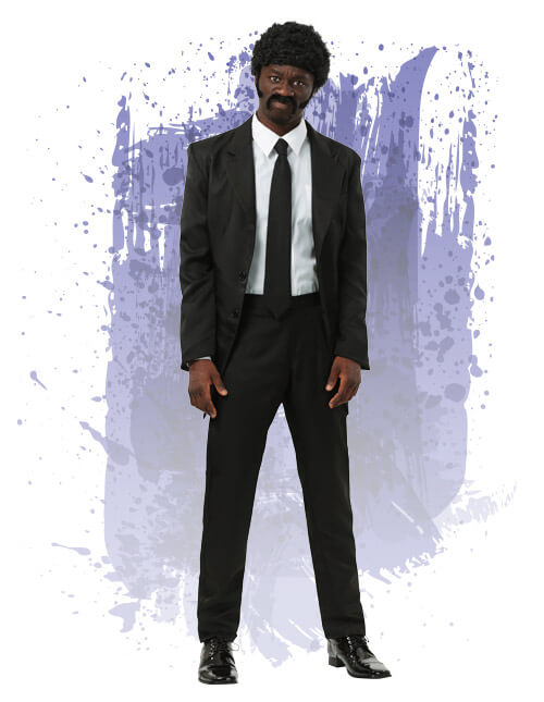Adult Pulp Fiction suit