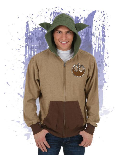 Yoda Costume Hoodie