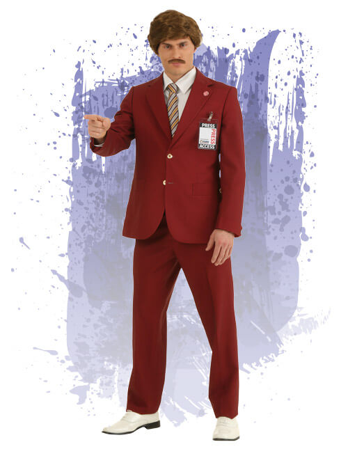 Authentic Ron Burgundy  sc 1 st  Halloween Costumes & Mens Halloween Costumes - HalloweenCostumes.com