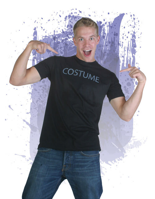 mens costume t shirt