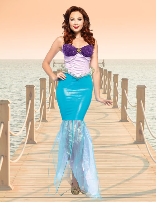 Little Mermaid Costumes - Ariel Little Mermaid Costume