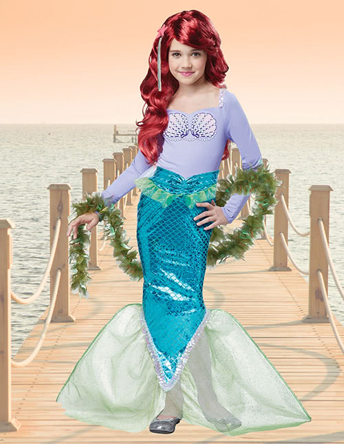 Mermaid Costume for Kids
