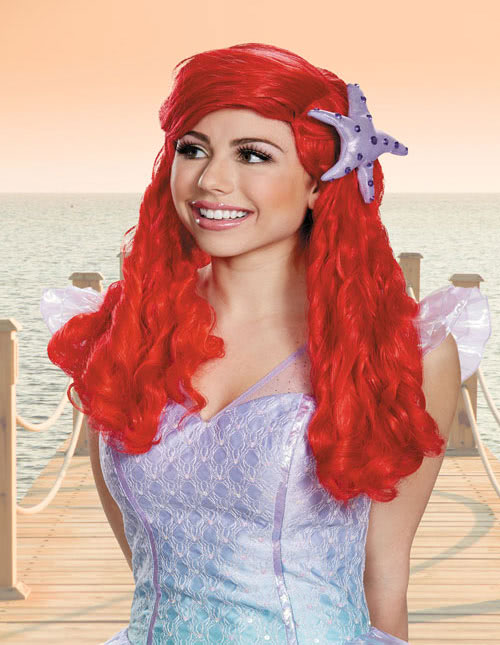Ariel Mermaid Wig
