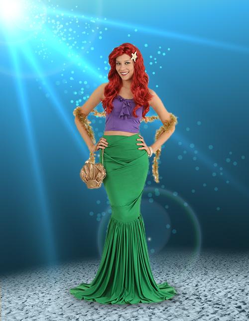 0b9f8b5876293 Mermaid Costumes - Adult, Kids Little Mermaid Costumes