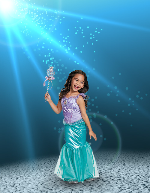 999f28dbdc59 Mermaid Costumes - Adult, Kids Little Mermaid Costumes