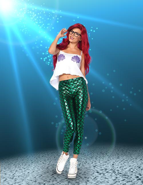 c2e30e4abd1 Mermaid Costumes - Adult, Kids Little Mermaid Costumes